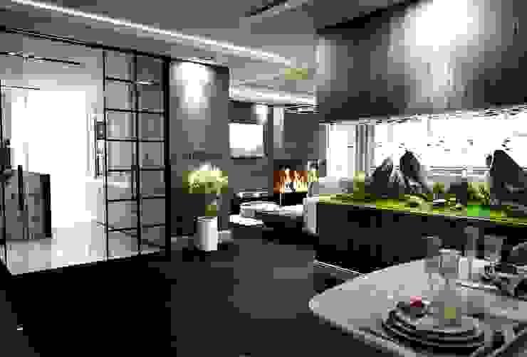 Zeminler ve aksesuarlar Modern Oturma Odası ANTE MİMARLIK Modern