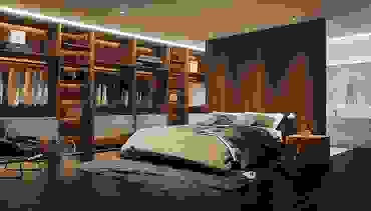 Schlafzimmer Architekturvisualisierung - kostenloser Preisvergleich beim Visualisierungskompass.de ViKo - Dein Visualisierungskompass Moderne Schlafzimmer