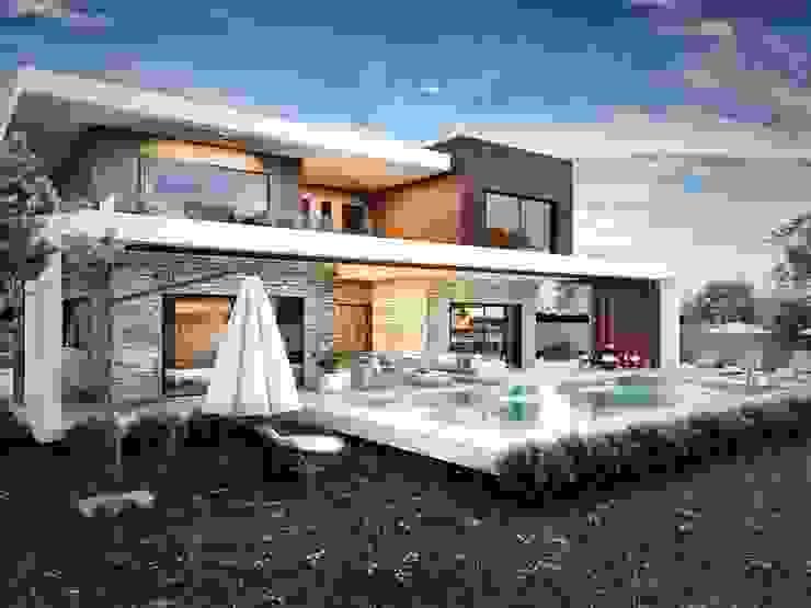 1. kat planı Modern Evler ANTE MİMARLIK Modern