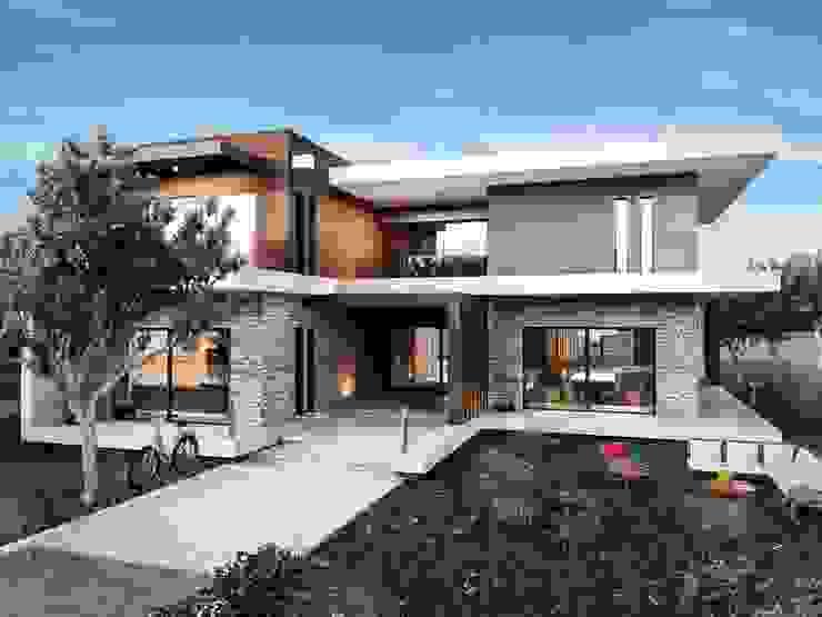 Dış cephe tasarım Modern Evler ANTE MİMARLIK Modern