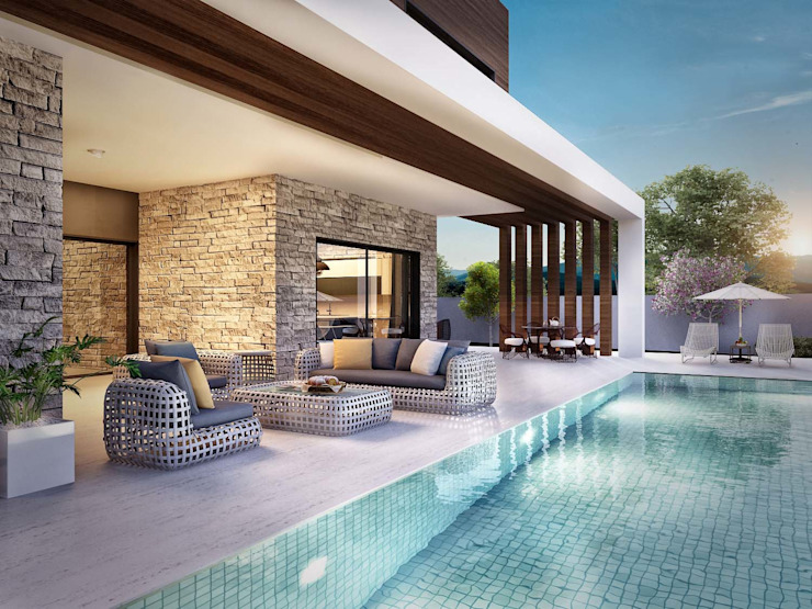 ANTE MİMARLIK Garden Pool