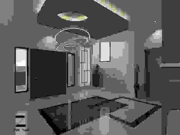 الممر الحديث، المدخل و الدرج من ZAYED Studio حداثي رخام