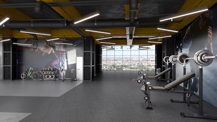 Gym by Dündar Design - Mimari Görselleştirme,