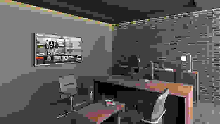 Dündar Design - Mimari Görselleştirme Тренажерный зал в стиле модерн