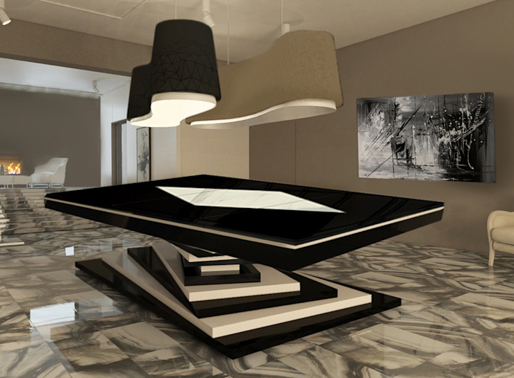 homify Dining roomTables MDF