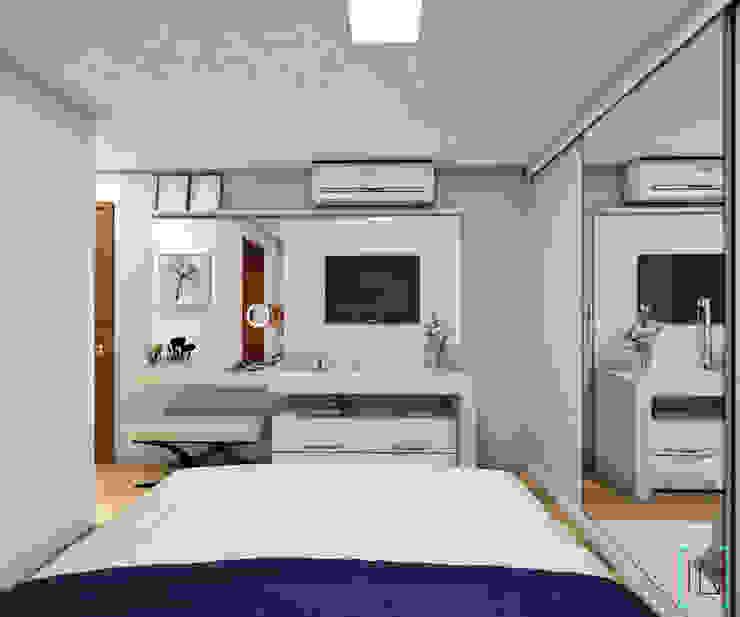 Dormitorios de estilo  por INOVE ARQUITETURA