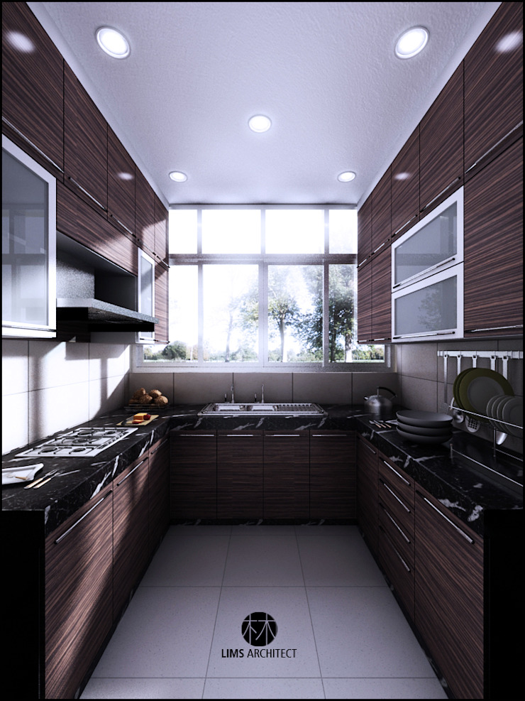 Minimalist kitchen by Lims Architect Minimalist