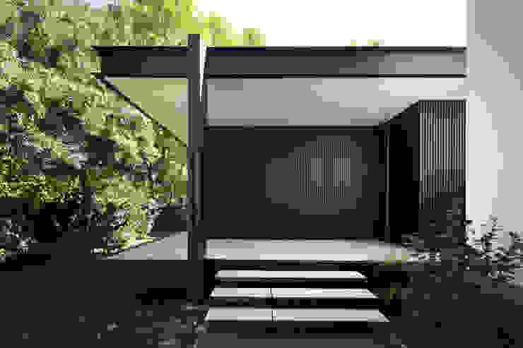 CTN HOUSE Brengues Le Pavec architectes Escalier Métal Noir