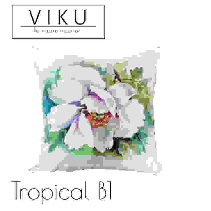 Tropical pillow B1 Oleh viku Skandinavia Tekstil Amber/Gold