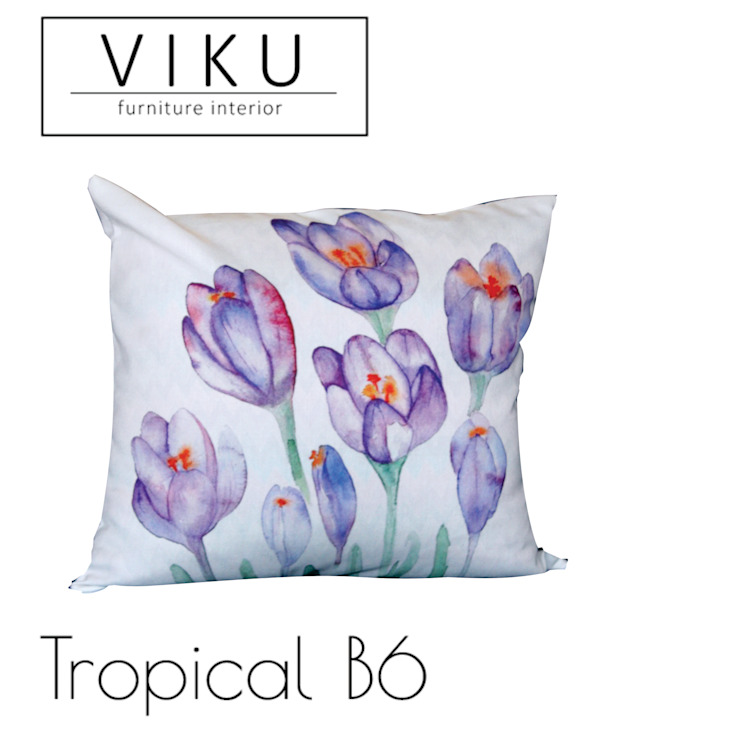 Tropical pillow B6 Oleh viku Skandinavia Tekstil Amber/Gold