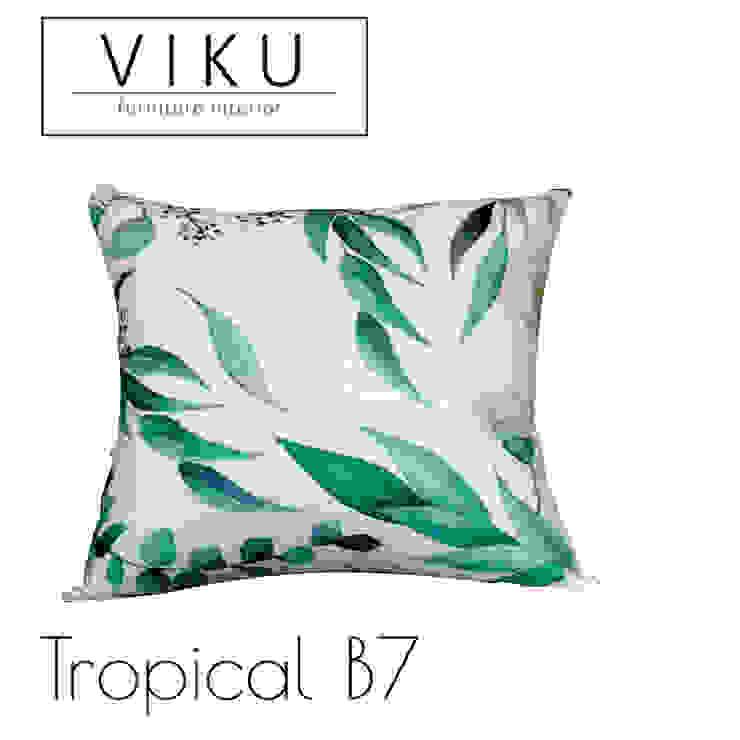 Tropical pillow B7 Oleh viku Skandinavia Tekstil Amber/Gold