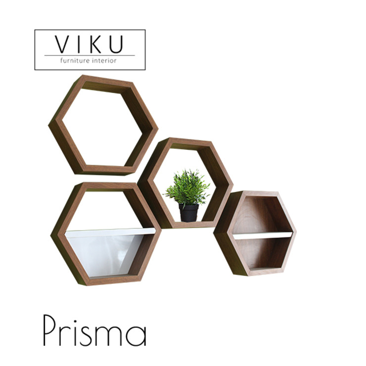 Prisma Oleh viku Skandinavia Kayu Wood effect
