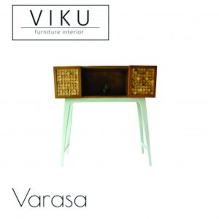 viku Balconies, verandas & terraces Accessories & decoration Wood Brown
