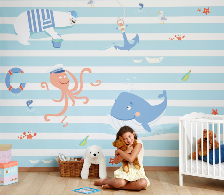 Walls & flooring by Baby Interior Design,
