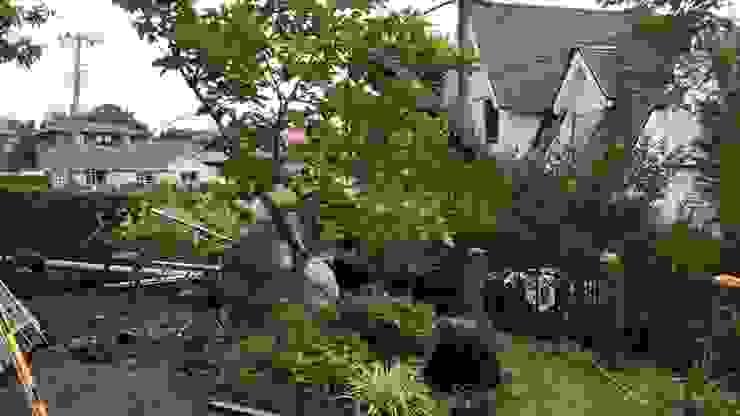 施工中 状況 の 庭や煌久