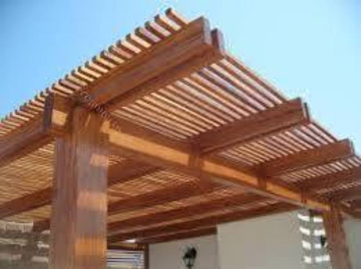 Constructores de FERBO Moderno Madera Acabado en madera