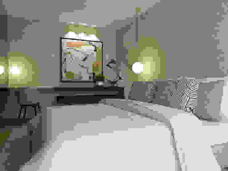 Moderne slaapkamers van 411 - Design e Arquitectura de Interiores Modern