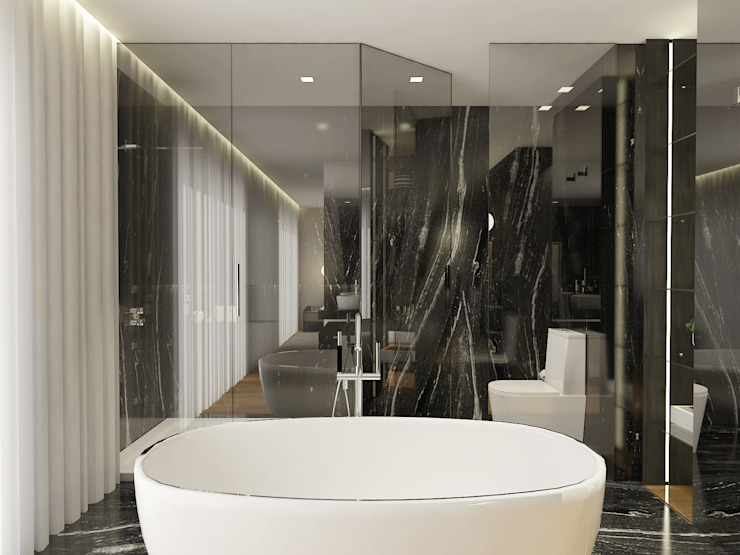 Modern bathroom by 411 - Design e Arquitectura de Interiores Modern