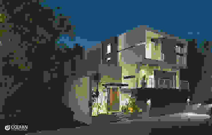 Proyecto Cumbres CODIAN CONSTRUCTORA Casas de estilo minimalista