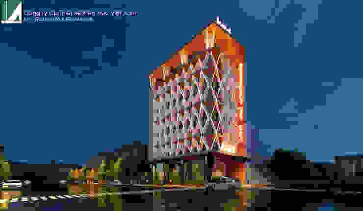 PHƯƠNG ÁN KHÁCH SẠN & CĂN HỘ CAO CẤP CHUYÊN GIA - 8 TẦNG _HỒ SEN _ HẢI PHÒNG . bởi Kiến trúc Việt Xanh