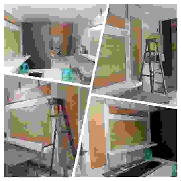 Proses Renovasi Oleh Lims Architect