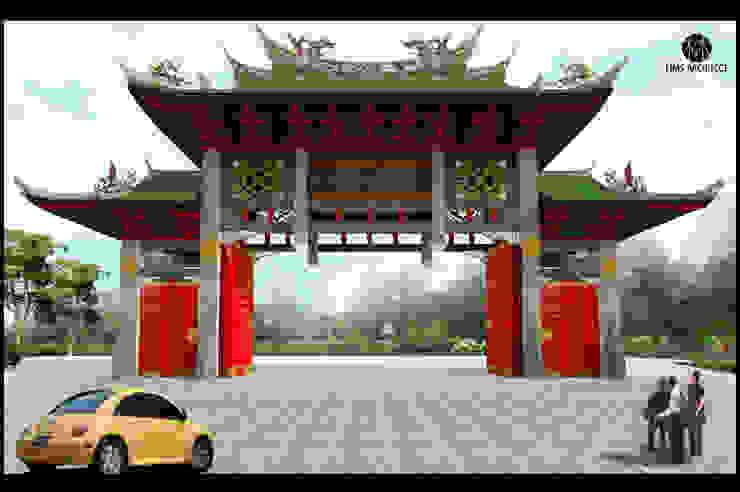 Gerbang Vihara Avalokitesvara Siantar City Oleh Lims Architect