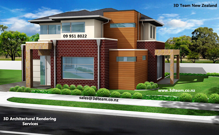 3D Architectural Rendering by 3D Team