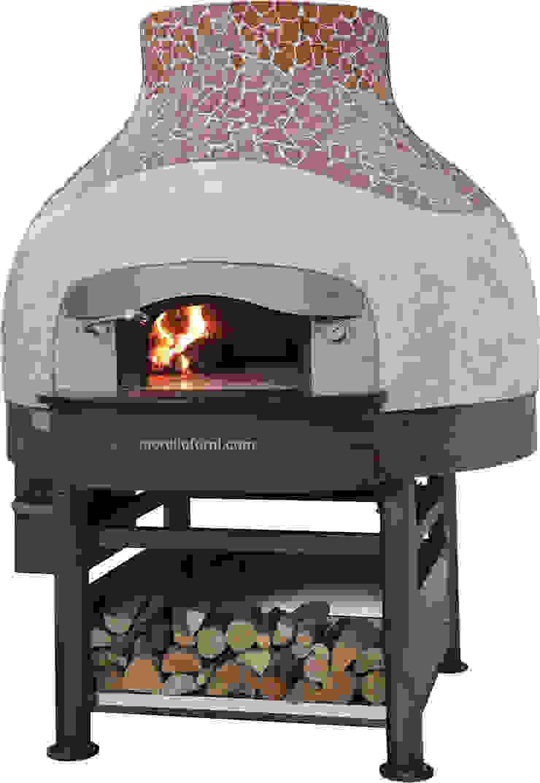 Forno A Legna Immagini forno a legna professionale con cupola in mosaico by morello