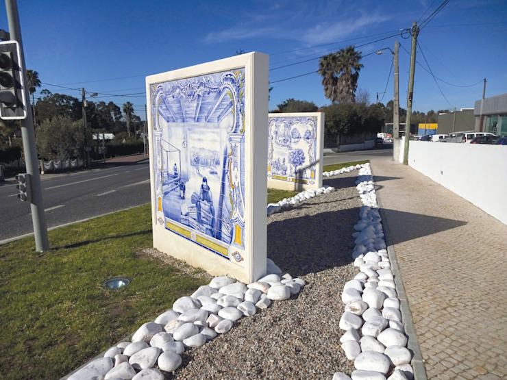 โดย Gestos Nativos - azulejos