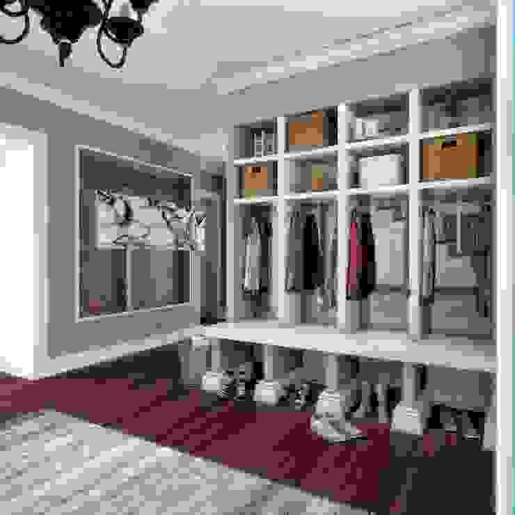Modern corridor, hallway & stairs by ANTE MİMARLIK Modern