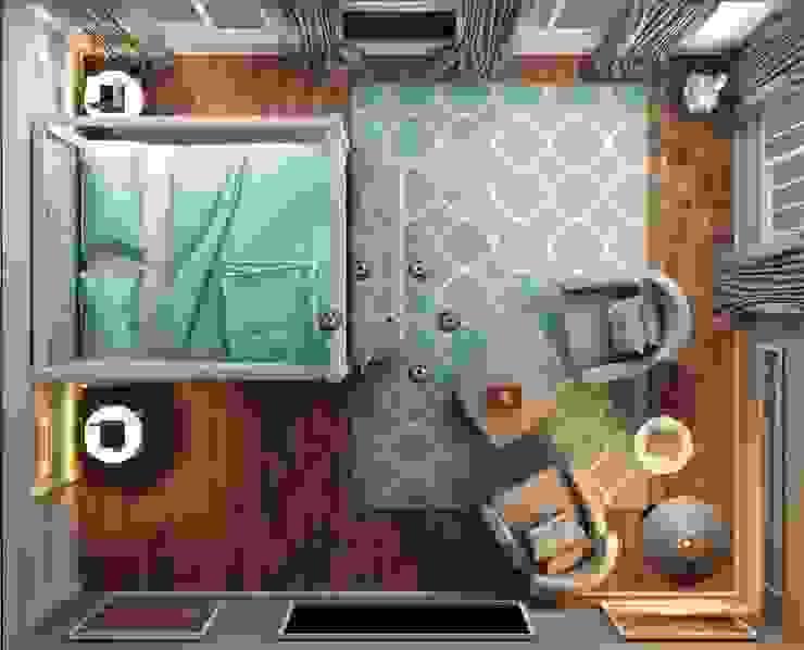 モダンスタイルの寝室 の ANTE MİMARLIK モダン
