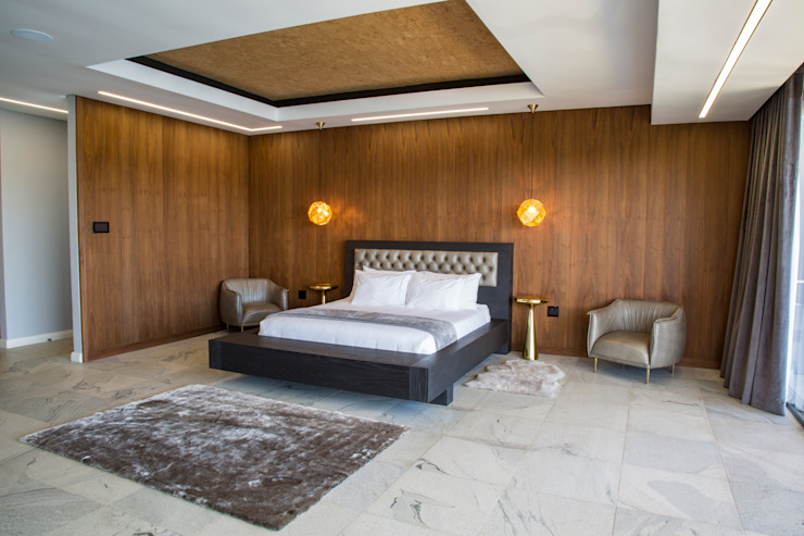 Master Bedroom Minimalist bedroom by AB DESIGN Minimalist