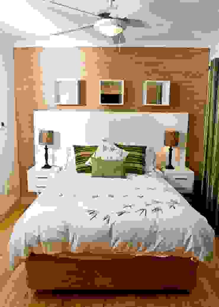 House Habana Modern style bedroom by AB DESIGN Modern