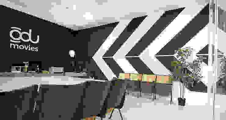 L'ufficio direzionale.:  in stile industriale di Rifò, Industrial Cemento