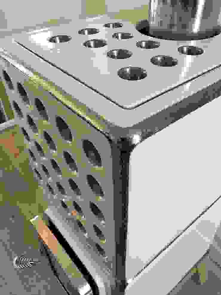 Cubi Stack Special Edition Moderne woonkamers van Art of Fire Modern Keramiek