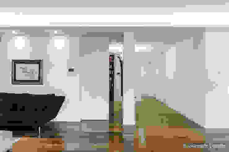 Ignazio Buscio Architetto Modern Living Room Wood White