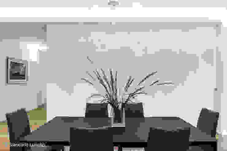 Ignazio Buscio Architetto Modern Dining Room Wood White