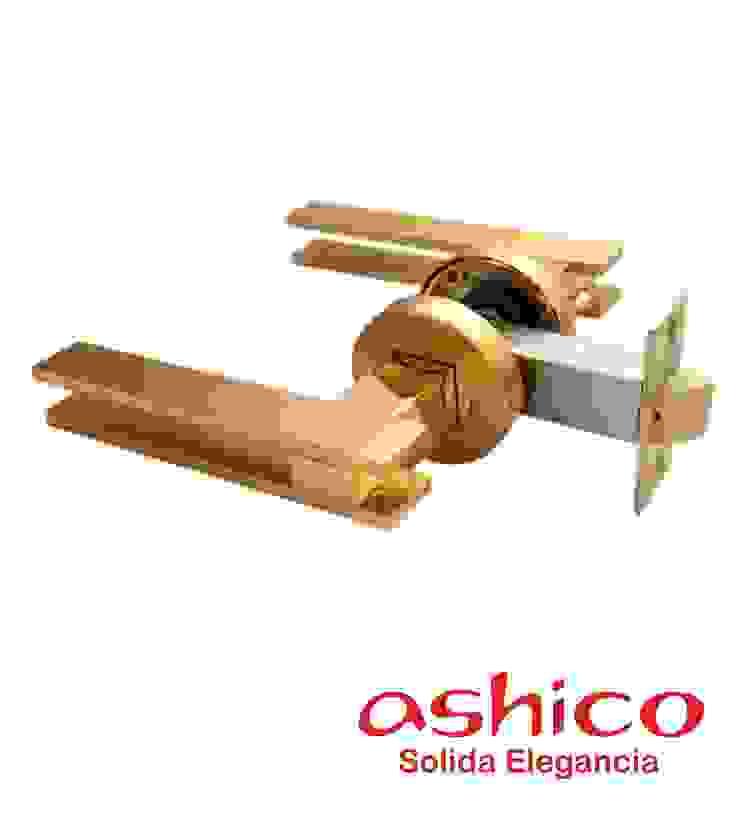 Star Ashico de Recamara Oro de Industrial de Cerraduras Minimalista Cobre/Bronce/Latón