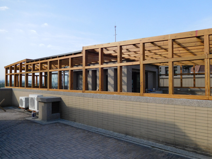施工前: 不拘一格  by 園匠工坊-採光罩 玻璃屋 小木屋 露台 南方松木作工程, 隨意取材風