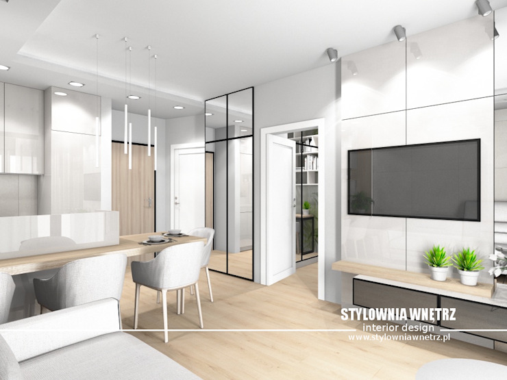 Stylownia Wnętrz Modern dining room Beige