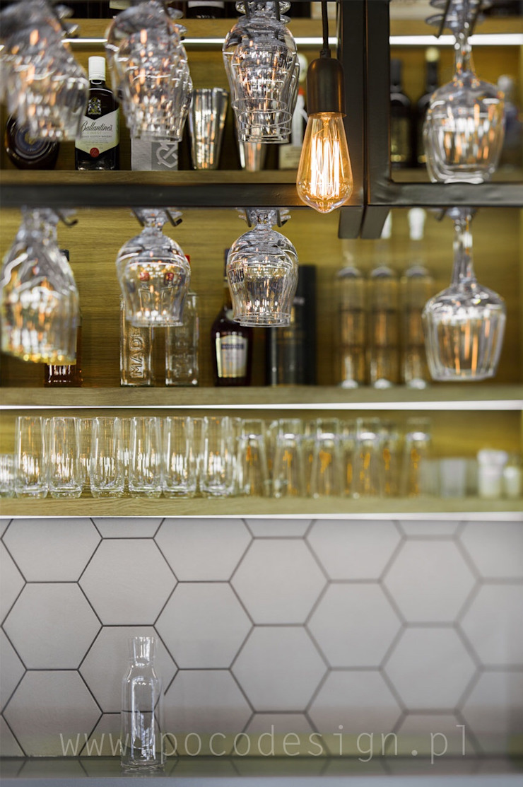 Pracownia Projektowa Poco Design Gastronomía de estilo escandinavo