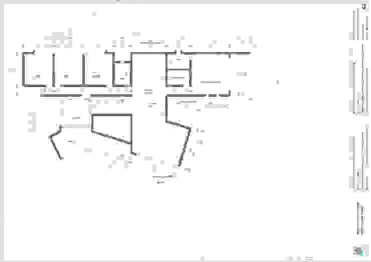 Planta segundo nivel :  de estilo  por Lagom Studio