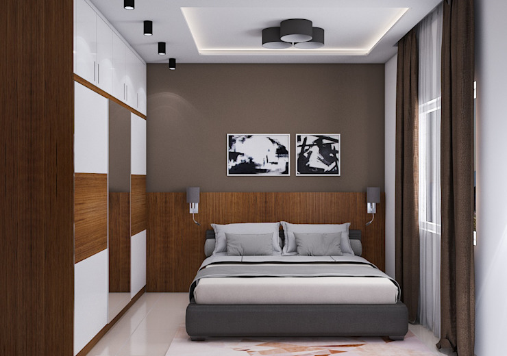 Master Bedroom Modern style bedroom by Modulart Modern