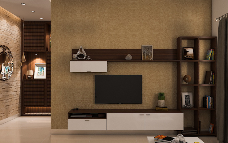 TV Unit Modern Living Room by Modulart Modern