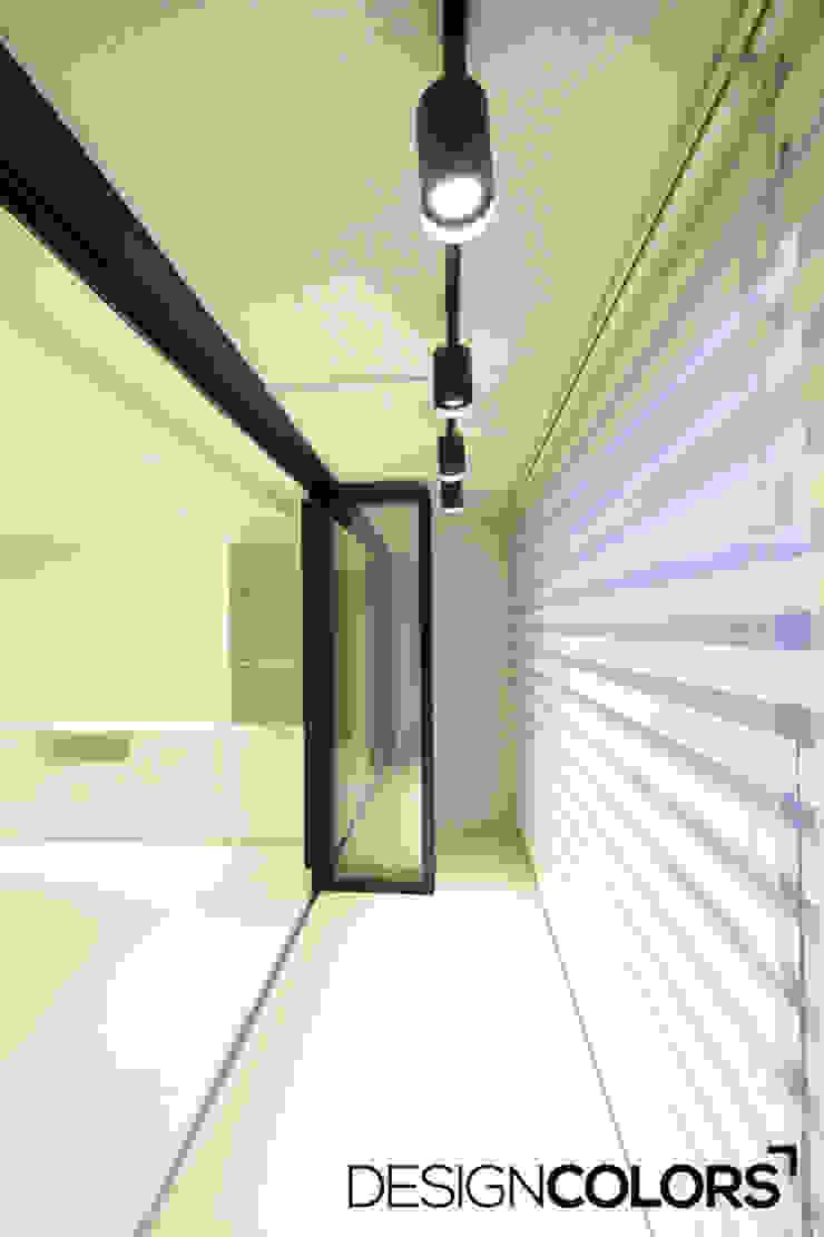 서대문구 대현동 대현럭키 32평 아파트 인테리어 모던스타일 거실 by DESIGNCOLORS 모던
