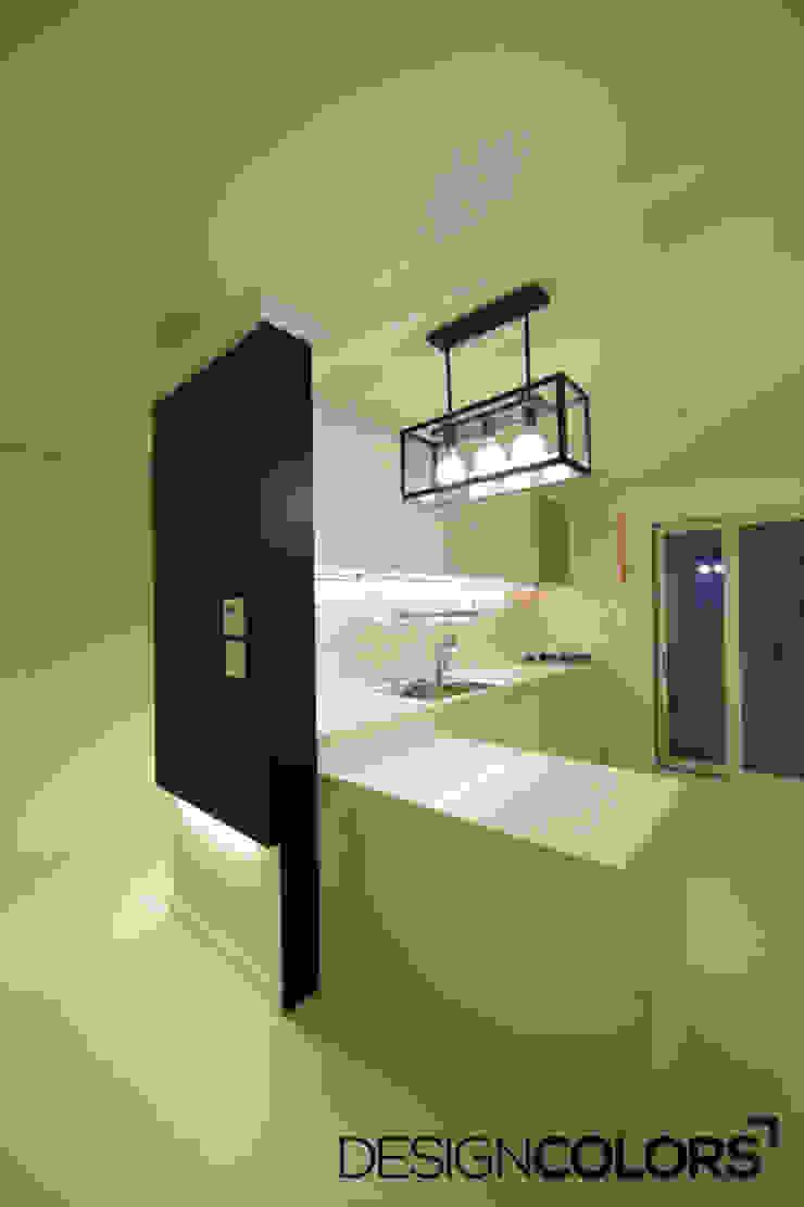 서대문구 대현동 대현럭키 32평 아파트 인테리어 모던스타일 주방 by DESIGNCOLORS 모던