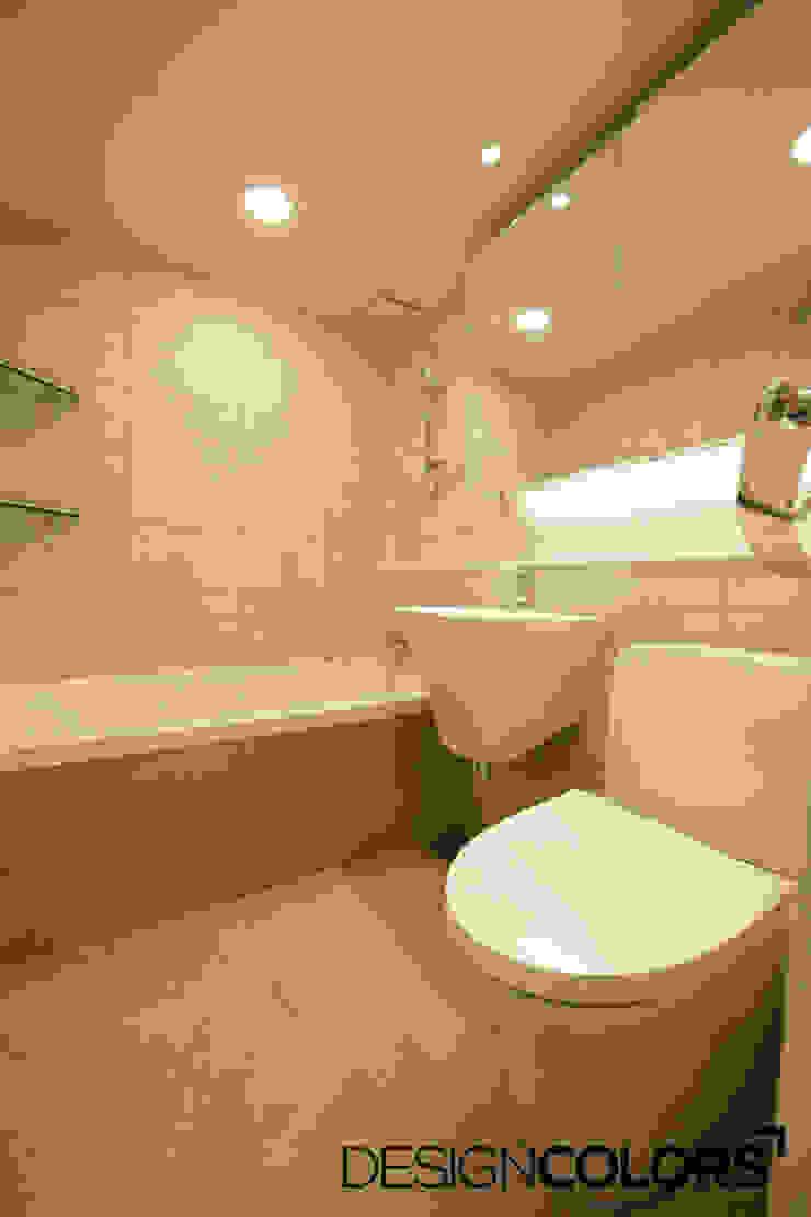 서대문구 대현동 대현럭키 32평 아파트 인테리어 모던스타일 욕실 by DESIGNCOLORS 모던