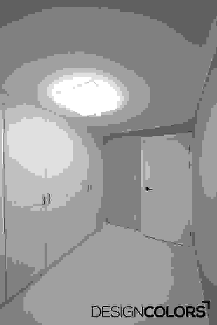 서대문구 대현동 대현럭키 32평 아파트 인테리어 모던스타일 미디어 룸 by DESIGNCOLORS 모던