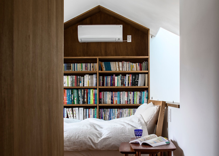 遠藤誠建築設計事務所(MAKOTO ENDO ARCHITECTS) Scandinavian style bedroom