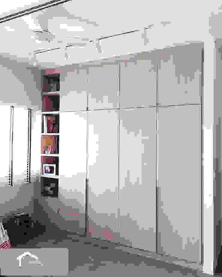 Minimalist with a Scandinavian twist Minimalist study/office by Singapore Carpentry Interior Design Pte Ltd Minimalist